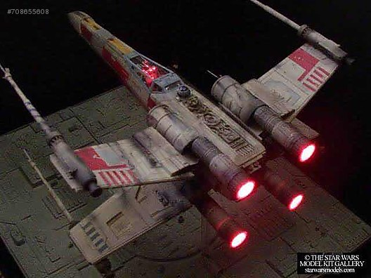 AMT STAR WARS PRO SHOP X WING FIGHTER 1:35 at sahibinden