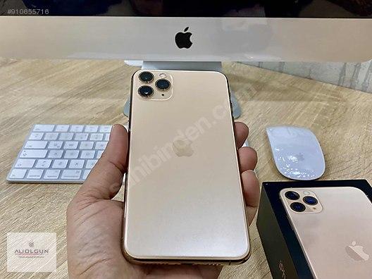 el iphone 11 pro max gold apple
