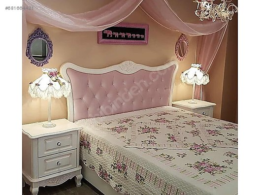 Country Beyaz Yatak Odasi Takimi Modoko Yatak Odasi Takimi