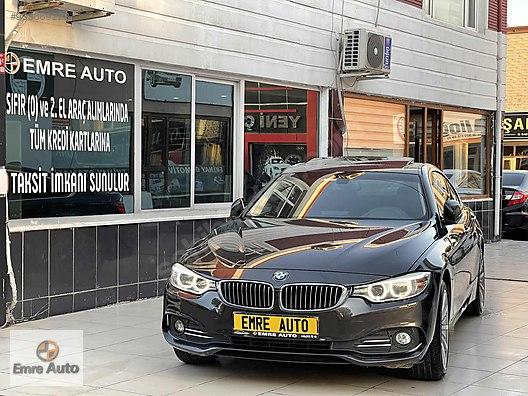 EMRE AUTO'DAN 2014 MODEL BMW 420D HATASIZ BOYASIZ SIFIR AYARINDA
