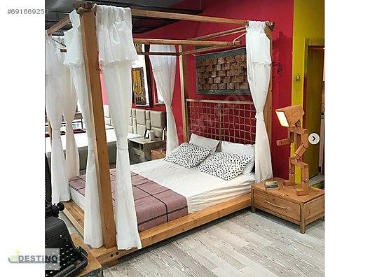 Bedroom Furniture Set Ozel Tasarim Cibinlikli Yatak Odasi