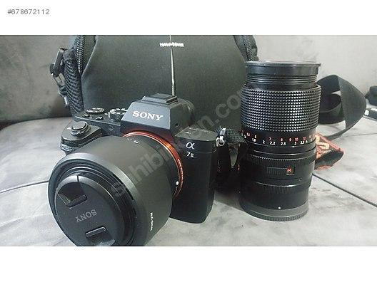 sony a7 i̇i̇ + sony 50mm 1 8 + zei̇ss jena 135mm f3 5 +