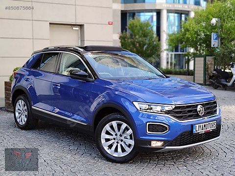 VW T-ROC 2020 / ÇİFT RENK / CAM TAVAN / LED / HEMEN...