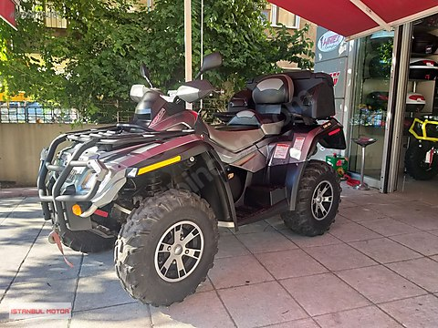 İSTANBUL MOTOR-CAN-AM OUTLANDER MAX 800 LIMITED...