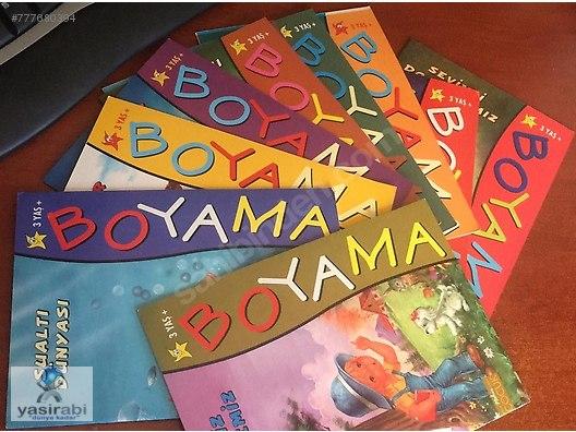 Nehir Cocuk Boyama Kitabi Seti 10 Kitap At Sahibinden Com 777680394