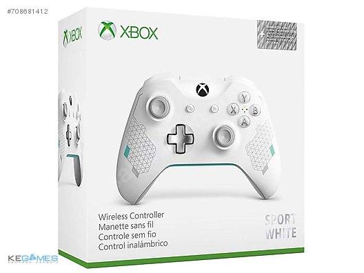 Xbox One S Kablosuz Kumanda Sport White (Pc Uyumlu Bluetooth) at