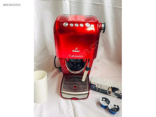 Cool Cafissimo Classic Hot Red Kahve Makinas With Cafissimo