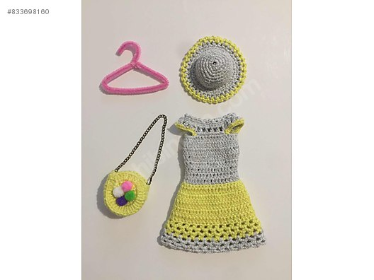 Yeni Kıyafet ve Peruğu ile Amigurumi Küçük Kız   Tiny Mini Design ...   396x528