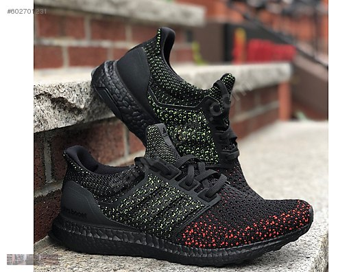 1b7b40c5d adidas ultra boost clima black solar red boost running aq0482