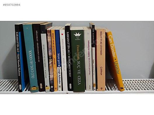 karisik 2 el kitap toplu kitap ve