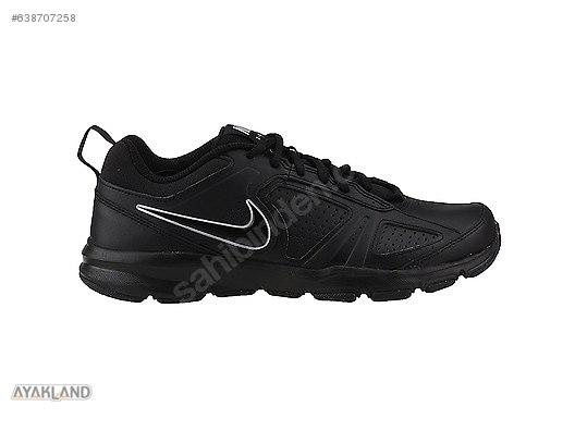 Nike T Lite Xi Siyah Günlük Fitness Antreman Erkek Spor Ayakkabı