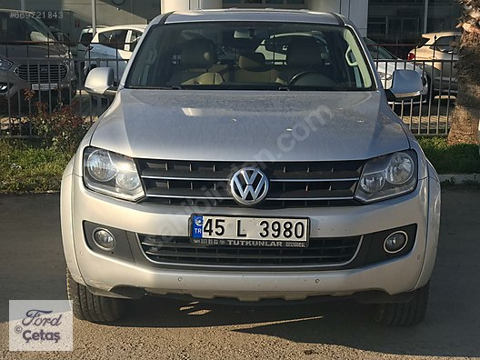 Volkswagen Amarok 20 Bitdi Highline çetaş Manisa 2el