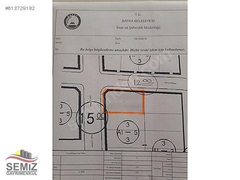 SEMIZ INŞ GAYRİMENKULDEN 5 KAT IMARLI 425 m2 SATILIK...