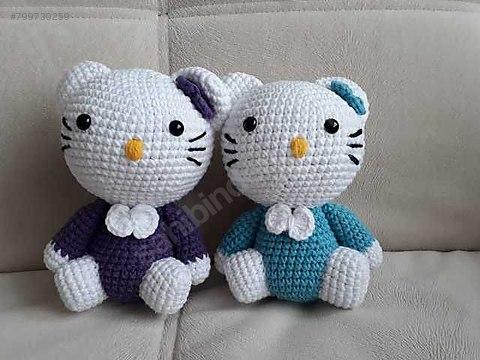 Amigurumi El Örgüsü Hello Kitty Oyuncak - İnci Tunçel El Örgüsü ... | 360x480
