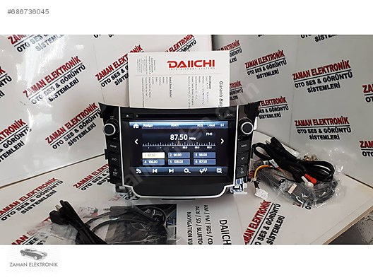 Car Multimedia / HYUNDAİ İ30 DAİİCHİ NAV BT USB SD ORJINAL SIFIR