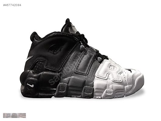 official photos 530d1 be8ca NIKE AIR MORE UPTEMPO 96 BLACK COOL GREY WHITE 921948 002