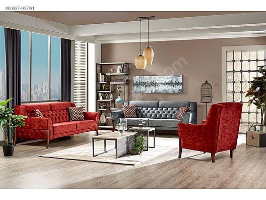 Living Room Furniture Oturma Grubu Ergul Mobilya
