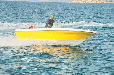 Mercan Yachting SKI 18 Gezi ve Su Sporu Teknesi