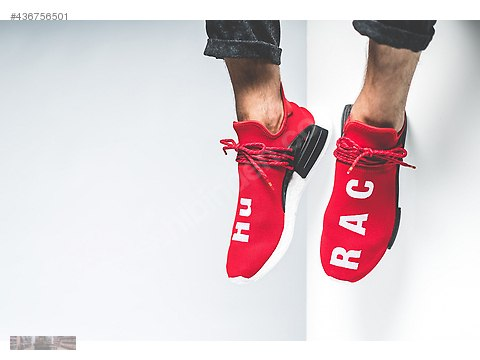 cdd2838327e Casual Shoes   ADIDAS PHARRELL WILLIAMS NMD HU HUMAN RACE SCARLET RED BB0616  at sahibinden.com - 436756501