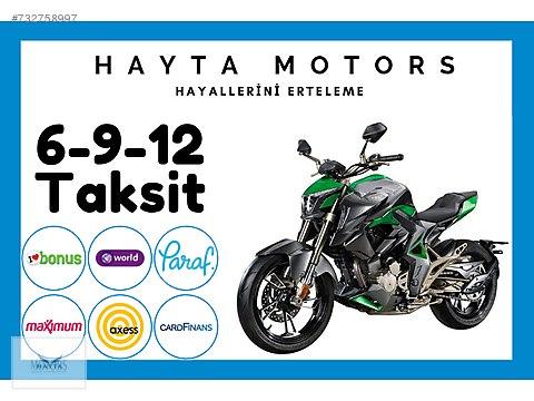 Zontes 310 R 2020 Model Naked / Roadster Motor Motosiklet