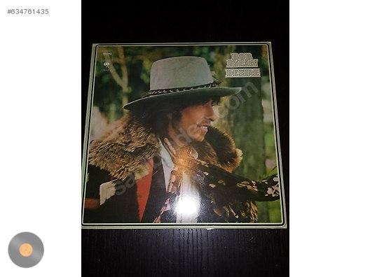 Rock / Bob Dylan Desire     1975 Hollanda Baskı at