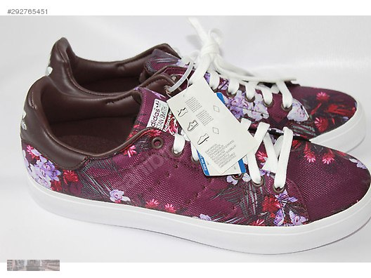 Casual Shoes ADIDAS STAN SMITH VULC FLORAL PURPLE B24550