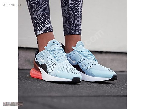 831fe1310b NIKE AIR MAX 270 OCEAN BLISS HOT PUNCH WHITE BLACK AH6789 400 at  sahibinden.com - 567768694