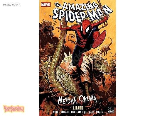 The Amazing Spider Man 18 Lizard Türkçe çizgi Roman Alışveriş