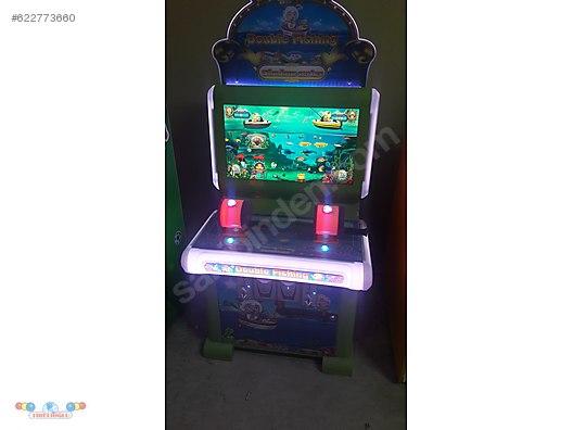 Balik Avlama 2 Kişilik Oyun Makinesi Enjoypark Izmirde çocuk