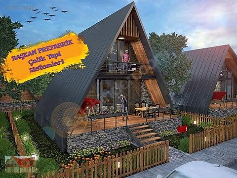 bungalov ev doga evleri satilik