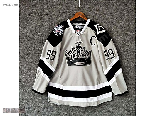 best authentic 05d43 1255c reebok nhl los angles kings stadium 99 gretzky jersey