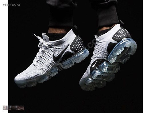 8e692f2bf111 nike air vapormax 2 flyknit white black trainers 942842 103