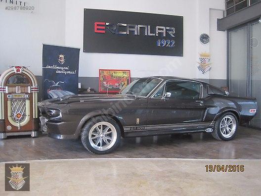 Galeriden Satılık 1968 Model 1 Km Ford Mustang 960000 Tl 298786920