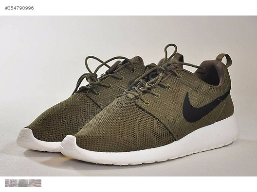 0b201ed4e66ce Nike-Roshe-One-QS-Olive-Green-Iguana-Black- Secondhand and New Products  Clothing Accessories Unisex Shoes Casual ...
