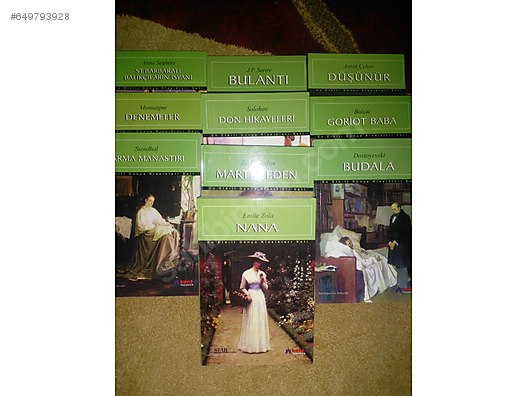 Dünya Klasikleri Seti Dünya Klasikleri Romanları Alışverişte Ilk
