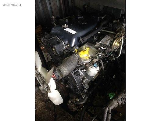 i̇suzu trooper 4jx1 çikma motor