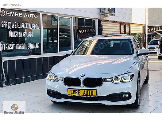 EMRE AUTO GÜVENCESİYLE 2017 BOYASIZ BMW 318 d PRESTİJ IŞIK PAKET