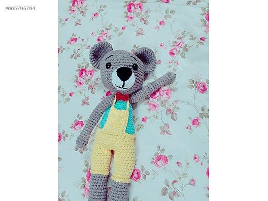 Kadife İple Amigurumi Ayıcık Yapımı, 2020 | Ayıcık, Teddy bear ... | 396x528