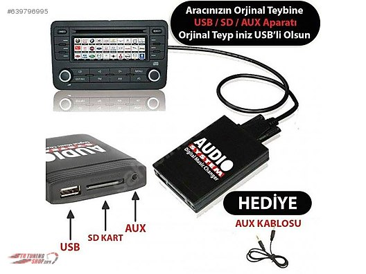 Accessories / CD Changers / 2009 Model Vw Jetta Teybine Usb