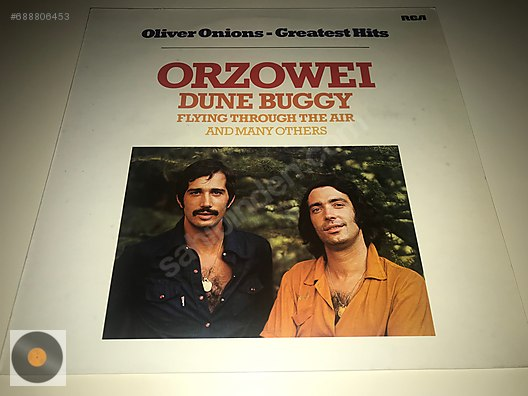 Rock / Oliver Onions - Greatest Hits    1977 Almanya Baskı at