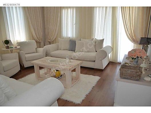 Living Room Furniture Beyaz Country Koltuk Takimi At