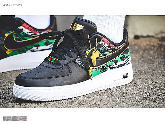 nike air force 1 low bhm africa casual sneaker 923093 100 bc6f850d27