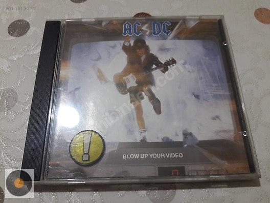 Rock / AC/DC Blow Up Your Video at sahibinden com