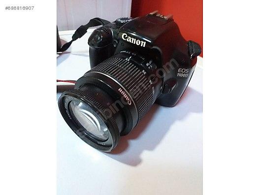 Canon EOS 1100D Fotoğraf Makinesi