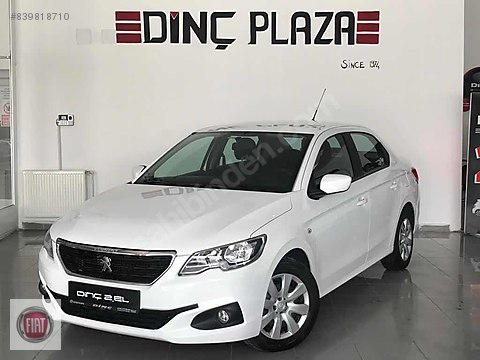 2017 PEUGEOT 301 1.6 HDI 92 HP ACTIVE 72.000KM...
