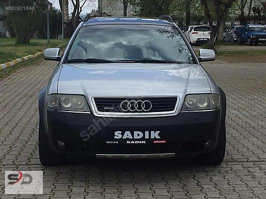 Audi A6 A6 Allroad Quattro 25 Tdi Sadik Otomotiv2003 Audi