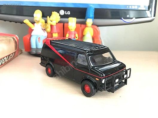 Corgi Gmc A Takımı Minibüsü Diecast Model Araba Alışverişte Ilk