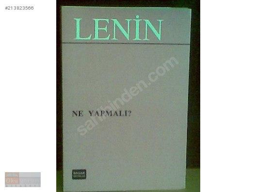 V I Lenin Ne Yapmalı Hareketimizin Can Alıcı Sorunları Sıfır
