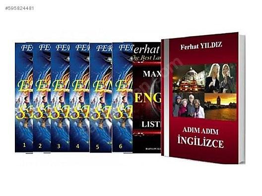 Ferhat Yıldız Ingilizce Set Ingilizce Kitaplar Sahibindencomda