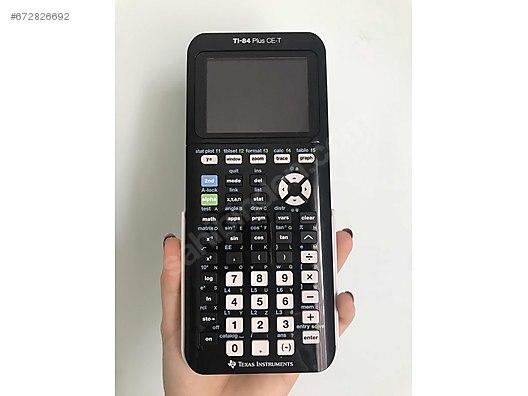 TI-84 plus CE-T hesap makinesi at sahibinden com - 672826692